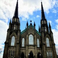 シャーロットタウンの教会